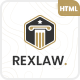 Rexlaw - Law Lawyer and Attorney HTML Template - ThemeForest Item for Sale
