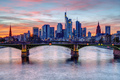 The financial district in Frankfurt in Germany - PhotoDune Item for Sale