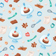 Cartoon Baking Seamless Pattern - GraphicRiver Item for Sale