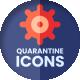 Quarantine Icons - VideoHive Item for Sale