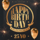 Birthday Party Flyer Template V2 - GraphicRiver Item for Sale