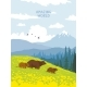 Bears Nature Mountains - GraphicRiver Item for Sale