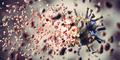 Kill, remove and eliminate coronavirus. Corona virus breaking up into pieces - PhotoDune Item for Sale