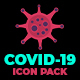 COVID-19 Icon Pack - VideoHive Item for Sale