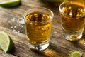 Alcoholic Reposado Tequila Shots - PhotoDune Item for Sale