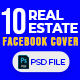 Real Estate 10 Facebook Cover - GraphicRiver Item for Sale