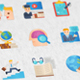 Online Course Modern Flat Animated Icons - VideoHive Item for Sale
