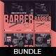 Barber Instagram Post and Stories Bundle - GraphicRiver Item for Sale