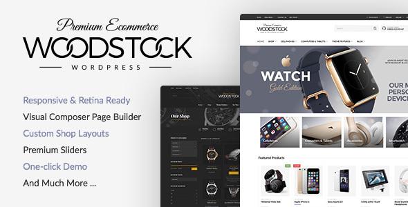 Woodstock - Electronics Store WooCommerce Theme Download