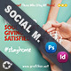 Charity Social Media Templates - GraphicRiver Item for Sale