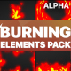 Burning Elements   Motion Graphics Pack - VideoHive Item for Sale