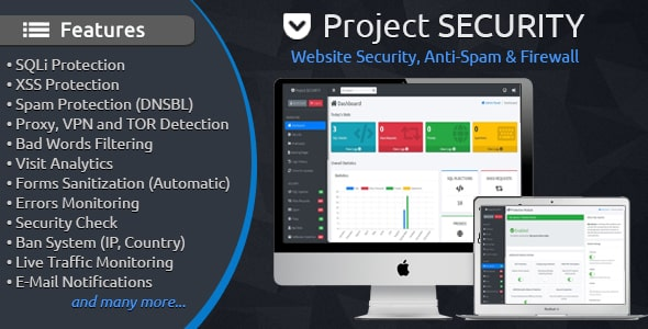 Project SECURITY – Website Security, Anti-Spam & Firewall Free Download #1 free download Project SECURITY – Website Security, Anti-Spam & Firewall Free Download #1 nulled Project SECURITY – Website Security, Anti-Spam & Firewall Free Download #1