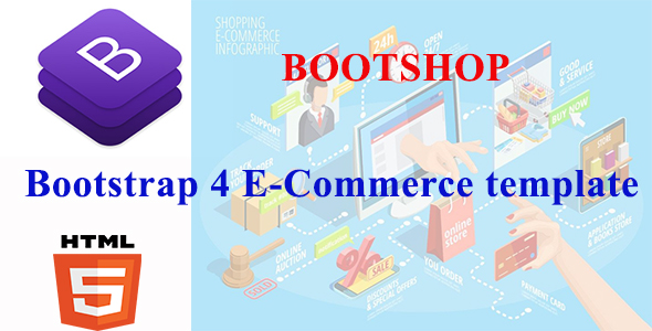 BootShop - Starter Flexible E-commerce Template With Crud Net Core MVC Datatable