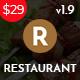 Ristora - Restaurant & Food WordPress Theme - ThemeForest Item for Sale