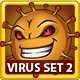 Coronavirus Cartoon Vector Illustrations Set 2 - GraphicRiver Item for Sale