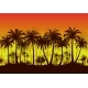 Seamless Landscape of Palms - GraphicRiver Item for Sale