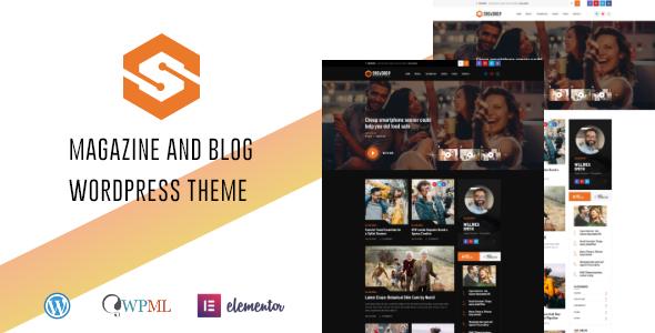 Snowdrop – Viral News & Magazine WordPress Theme Preview