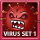 Coronavirus Cartoon Vector Illustrations Set 1 - GraphicRiver Item for Sale