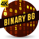 Binary Code Stream Gold - VideoHive Item for Sale
