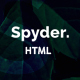 Spyder - One Page Multipurpose HTML Template - ThemeForest Item for Sale