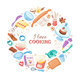 Cartoon Baking Vector Banner - GraphicRiver Item for Sale