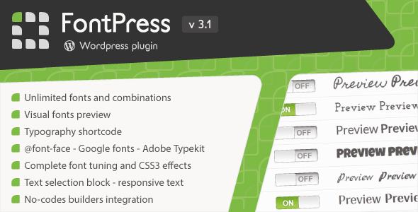 FontPress - Wordpress Font Manager Free Download #1 free download FontPress - Wordpress Font Manager Free Download #1 nulled FontPress - Wordpress Font Manager Free Download #1