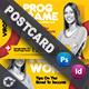 Seminar Postcard Templates - GraphicRiver Item for Sale