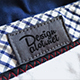 Embroidered Canvas Label on Blue Pants - GraphicRiver Item for Sale