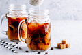Coconut Milk Thai Iced Coffee with Coffee Ice Cubes - PhotoDune Item for Sale