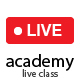 Academy LMS Live Streaming Class Addon - CodeCanyon Item for Sale