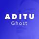 Aditu – Stylish Dark Theme for Ghost - ThemeForest Item for Sale