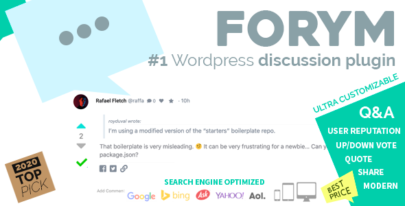 Photo of İçin Forym – Modern Tartışma Forumu WordPress Full Download