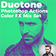 Duotone Photoshop Actions Color FX Mix Set - GraphicRiver Item for Sale