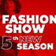 The Fashion Show Promo Opener - VideoHive Item for Sale