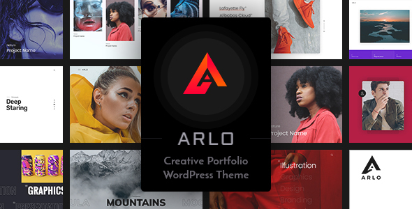 Arlo | Portfolio WordPress Theme