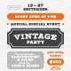 Vintage Party Poster Template - GraphicRiver Item for Sale