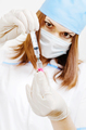 nurse prepares a vaccine for injection covid-19 - PhotoDune Item for Sale
