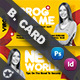 Seminar Business Card Templates - GraphicRiver Item for Sale