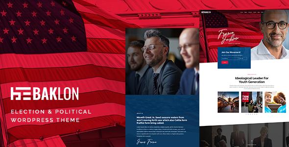 Baklon - Election & Political WordPress Theme