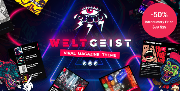 Weltgeist – Viral Magazine Theme Preview