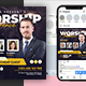 Conference Flyer & Social Media Post Templates - GraphicRiver Item for Sale
