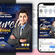 Church Online Event Flyer & Social Media Post Templates - GraphicRiver Item for Sale