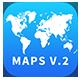 MAPS V.2 - Keynote Infographics Slides - GraphicRiver Item for Sale