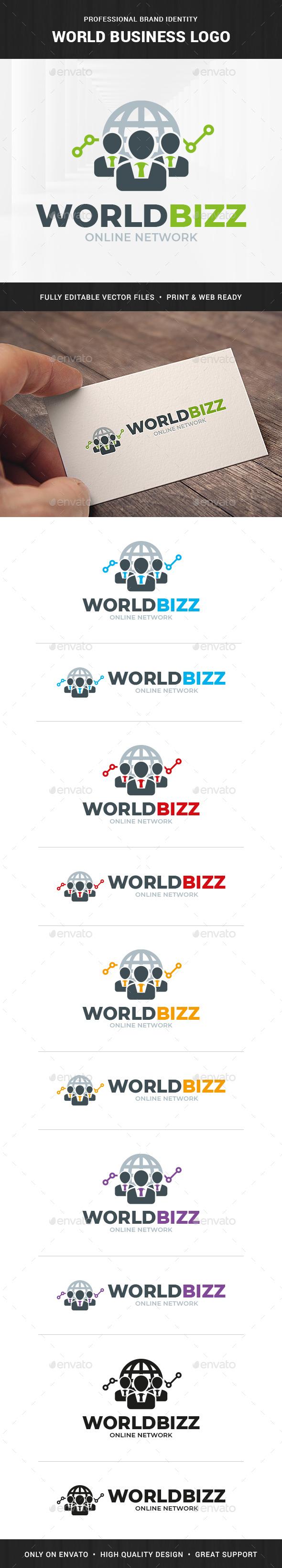 World Business Logo Template