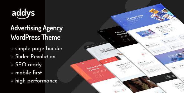 Addys - Advertising Agency WordPress Theme