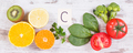 Fruits and vegetables as sources vitamin C - PhotoDune Item for Sale
