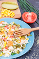 Fresh salad with couscous and vegetables - PhotoDune Item for Sale