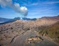 Aerial view of Bromo volcano at sunrise,Tengger Semeru national park, East Java, Indonesia - PhotoDune Item for Sale
