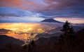 Aerial view of Mount fuji,Shindotoge view point, Japan - PhotoDune Item for Sale