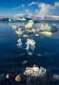 Icebergs in  Jokulsarlon glacier lagoon, Iceland - PhotoDune Item for Sale